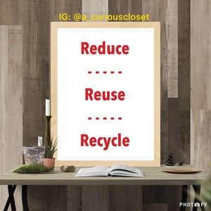 Reduce Reuse Recycle Packing Supplies